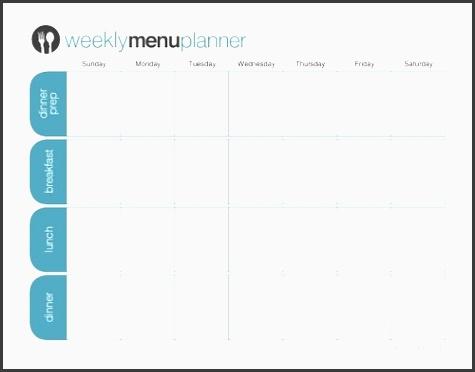 the one week menu planner this planner