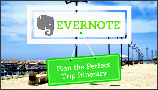 evernote for travel