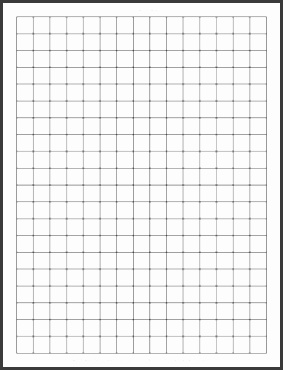Graph paper template revolutionary Graph Paper Template Release Gallery Letter 0 5 Inch 1 2 Printable