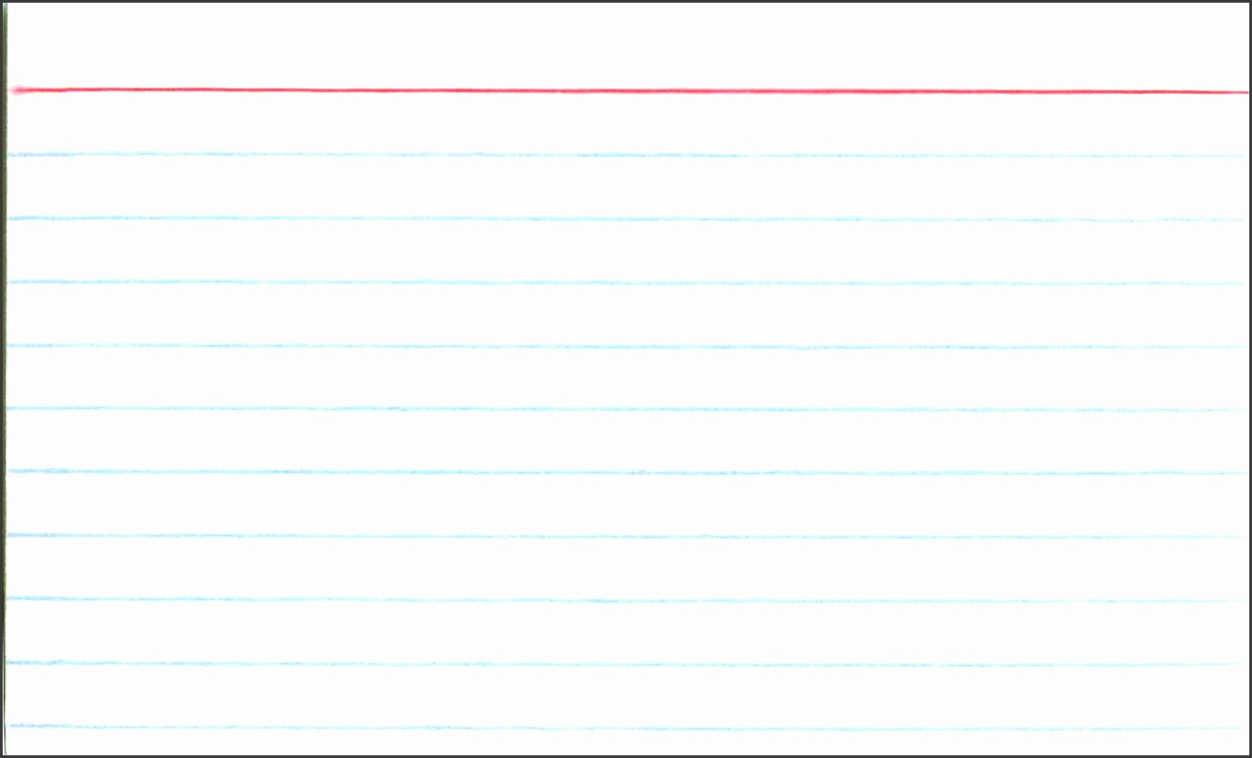 3X5 Blank Index Card Template 4