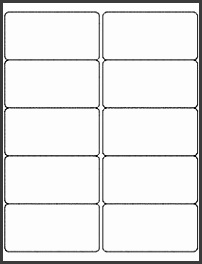 "4"" x 2"" Label Template Microsoft Word patible"