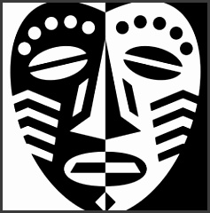 African Mask Design Lesson