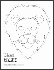 animal mask templates Google Search