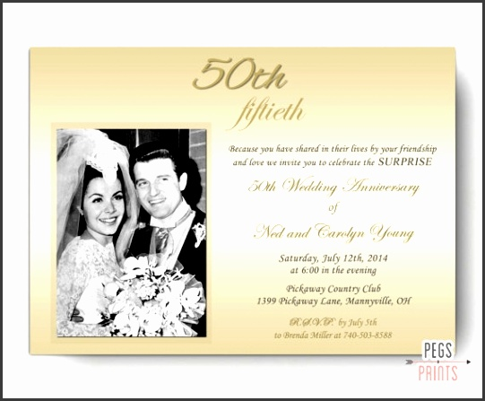 50 Wedding Anniversary Invitations with Great Wedding Invitations Sample