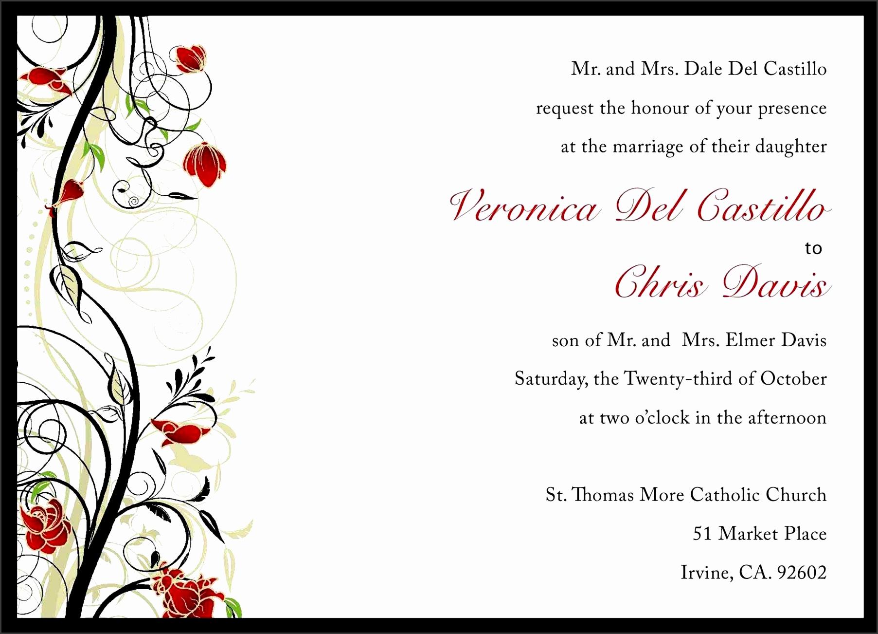 Bachelorette Invite Templates Invitation Card Wedding Invitation Formal Admission Ticket