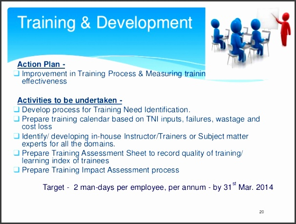 Training & Development Action Plan