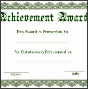 Award Certificates Templates Free Sample Attendance Sheets Letterhead Template Word Blue Pdf Awards Printable Templ