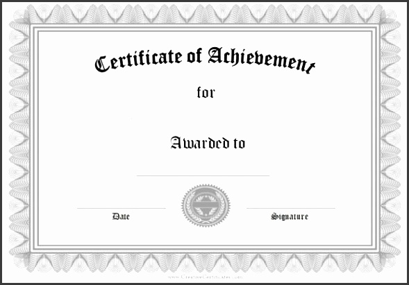Certificate templates for word imagine Certificate Templates For Word Applicable graph Achievement Printable Doc 9