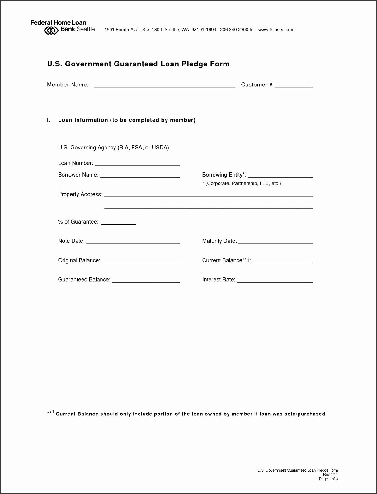 Loan Agreement Form Legal Template Free Printable Application Personal Document 1280
