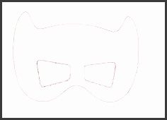HD wallpapers batman mask template for adults