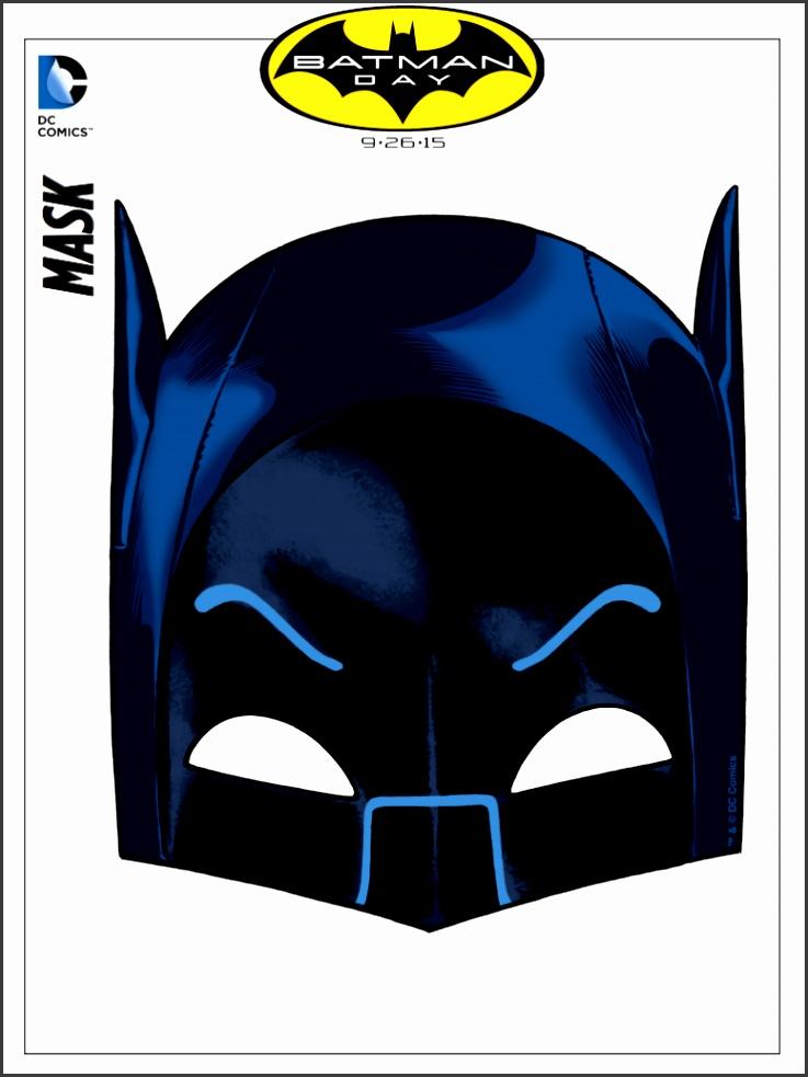 Printable Batman Mask