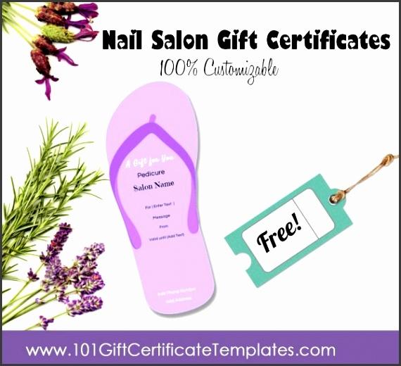 nail salon t certificate template nail salon t certificates