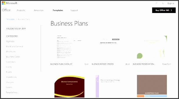 Best Business Plan Templates Microsoft