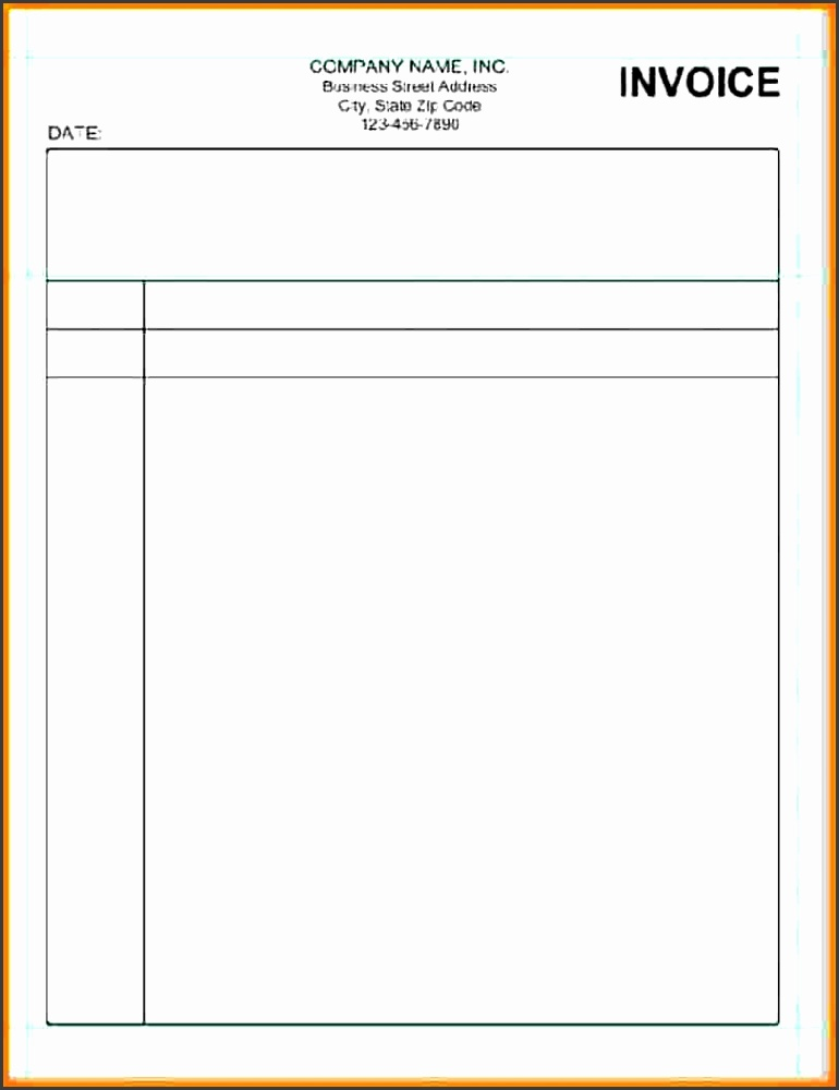 pdflling invoice samples blank blank invoice template pdf resume builder example for builders free to print form basic billing sample word format