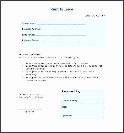 Rent Bill Sample Billing Statement Template 10 Free Rent Receipt House Rent Bill Sample