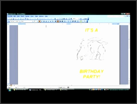 How to Make Folded Invitations With Microsoft Word Microsoft fice Software