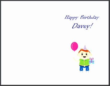 birthday card template word how to print your own greeting cards