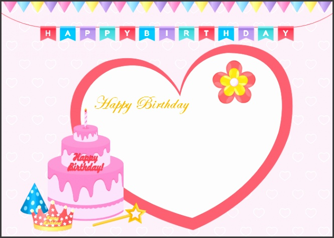 Editable Birthday Greetings Free Editable And Printable Birthday Card Templates