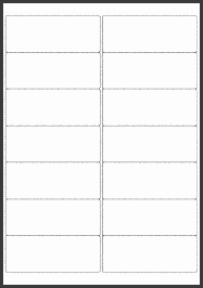 EU 99 1mm x 38 1mm Blank Label Template for Microsoft Word