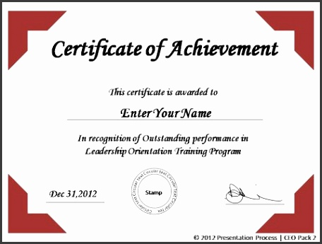 powerpoint award certificate template blank certificate templates Award Certificate Template Powerpoint