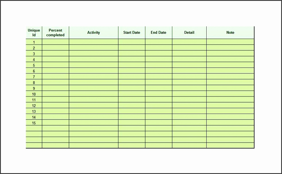 Printable Checklist Template 17