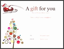 Image result for christmas tree t certificate template Printable Gift CertificatesFree Gift Certificate