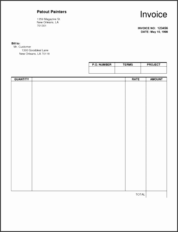 Template Dhlternational mercialvoice Template Uk Fedex Word Format Fill In The Blank Invoice Short Paid Receipt