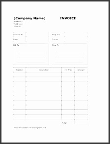 Download a free Billing Invoice Template for Excel designed for freelance accounting consulting and other small businesses