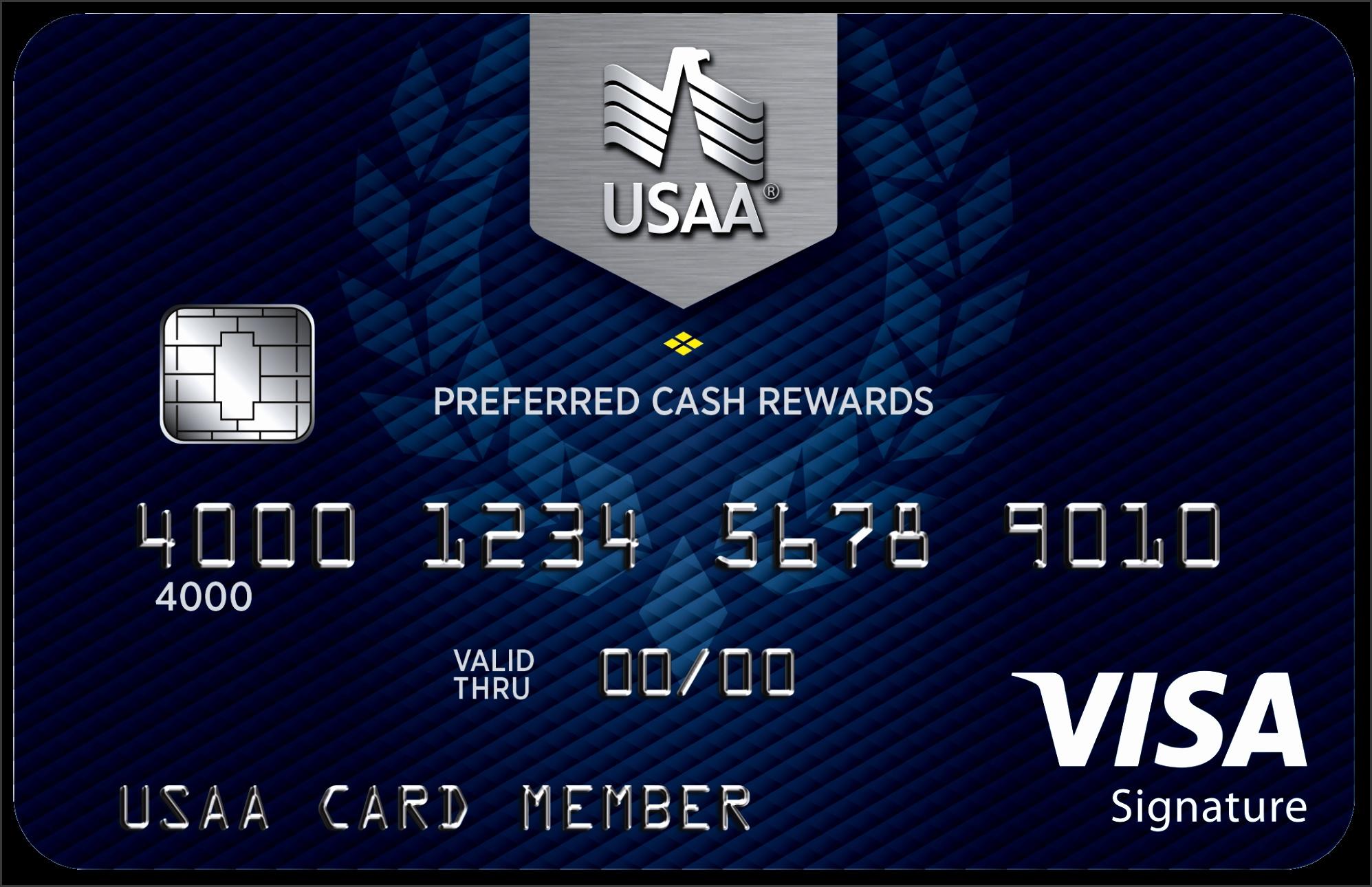 Preferred Cash Rewards Visa Signature Credit Card