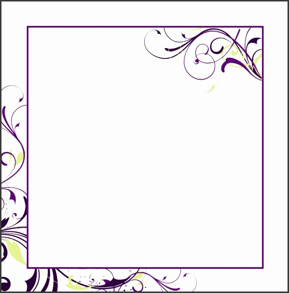 Printable Blank Wedding Invitation Templates an image part of Blank Program Template