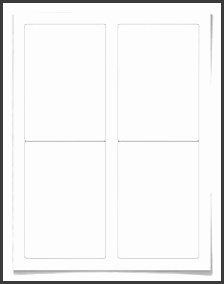 Free blank round label template WL 5100 label template in Word c