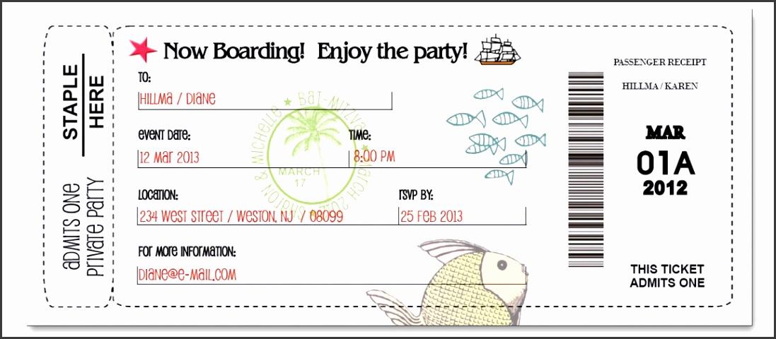 Boarding Pass Fun
