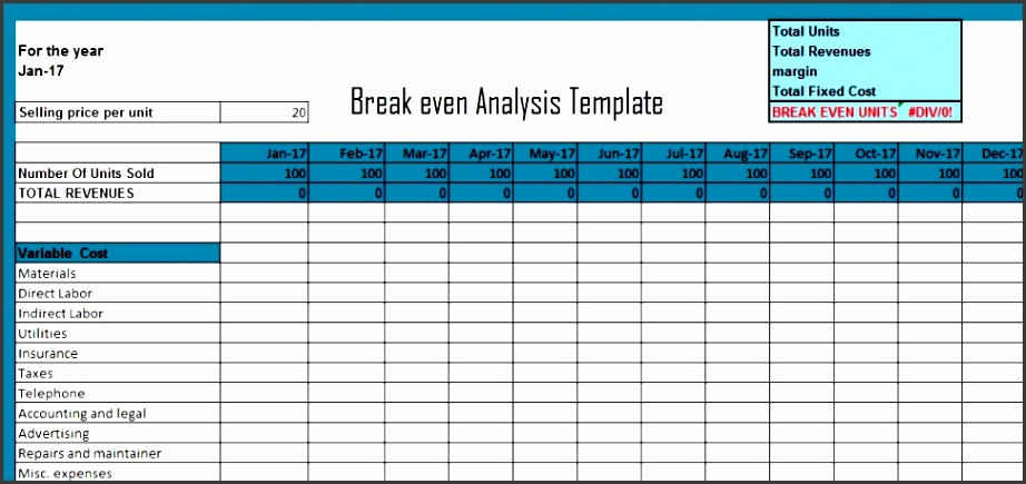 Simple Break even Analysis Chart Template Usaf Get Break even Analysis Excel Template Xls Excel Xls