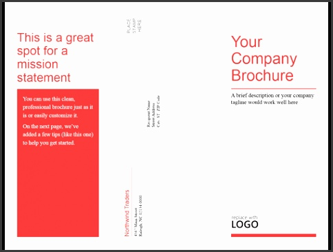 Downloadable Word Brochure Templates And Formats