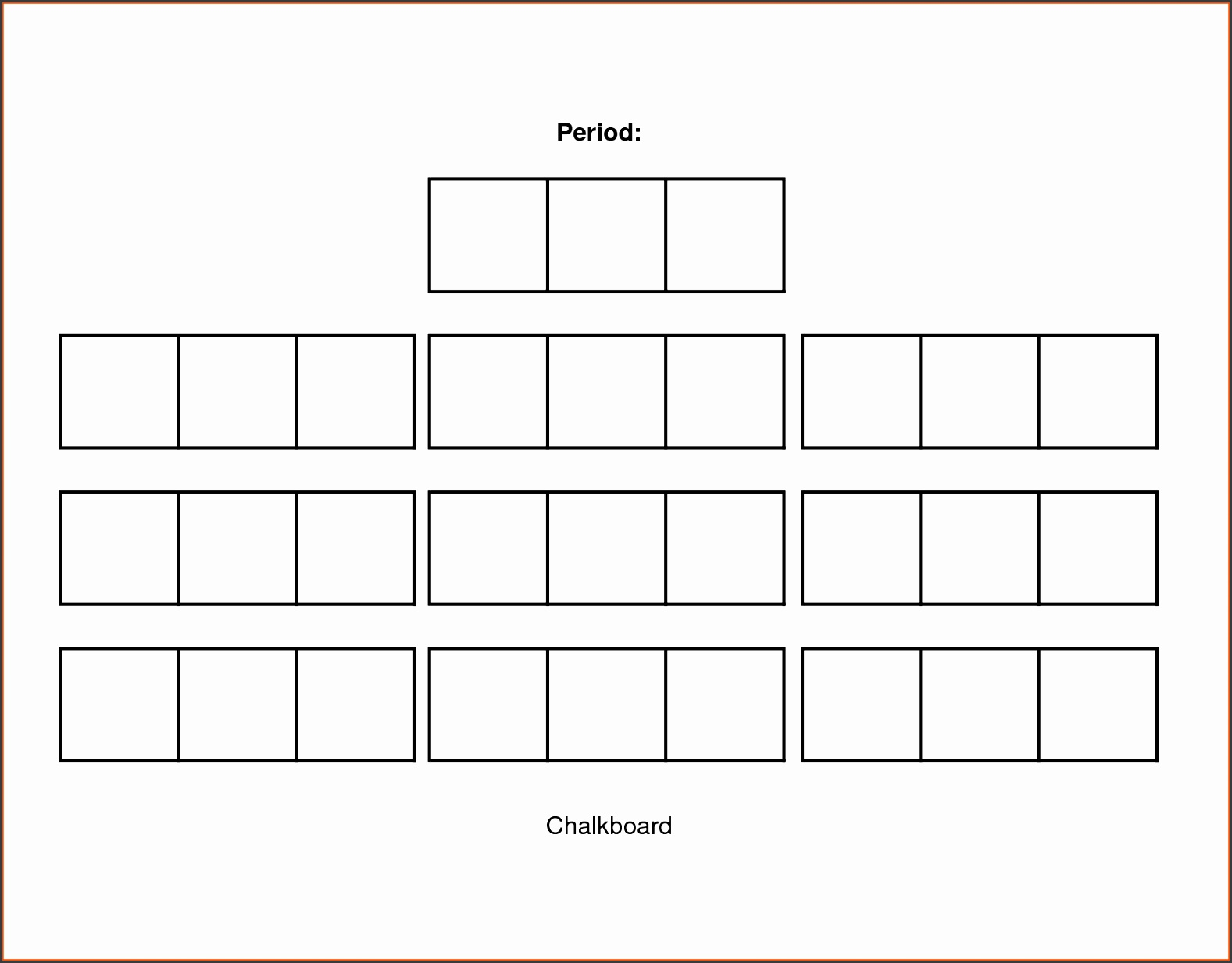 Ideas Collection Classroom Seating Chart Cute Seating Chart Templates Ideas Collection School Bus