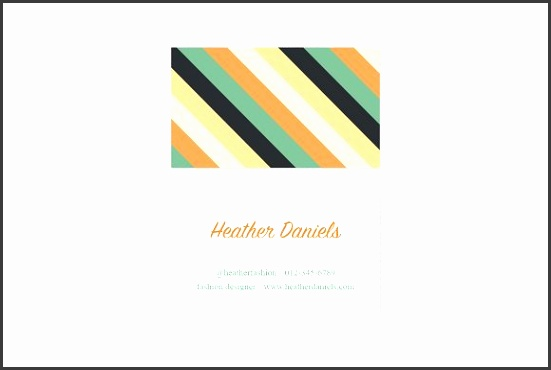 Color Stripes Business Card Template Templates Includes Adobe Illustrator ai files All artwork is