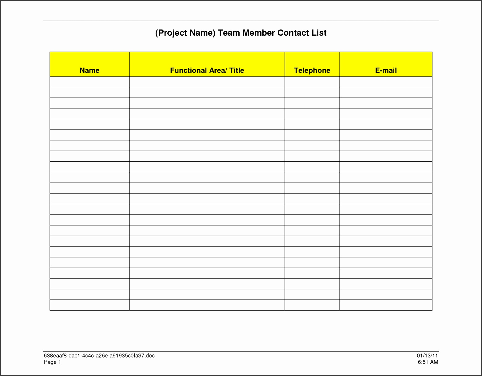 pany contact list template invoice receipt doc free word pdf documents