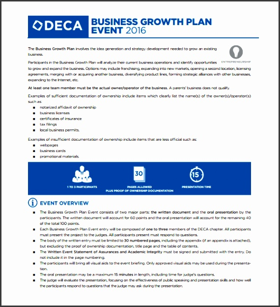 business growth strategy template sample growth plan template 8 free documents in pdf word