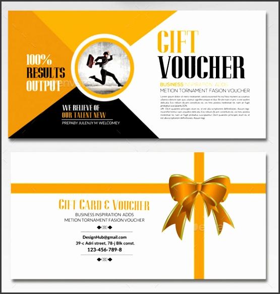 Business Gift Voucher Template Download