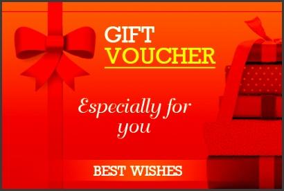 Business Gift Voucher Template