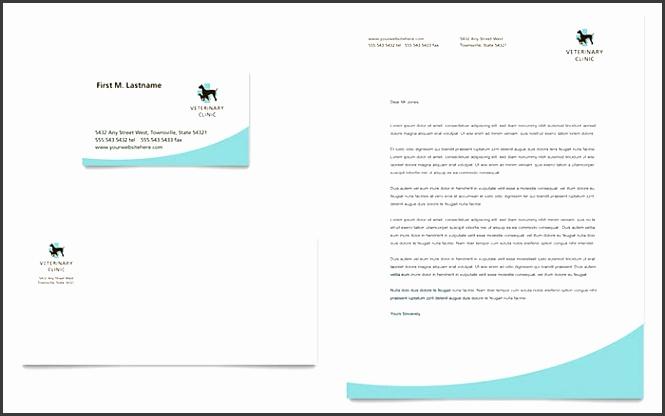 Vet Clinic Sample Letterhead Template
