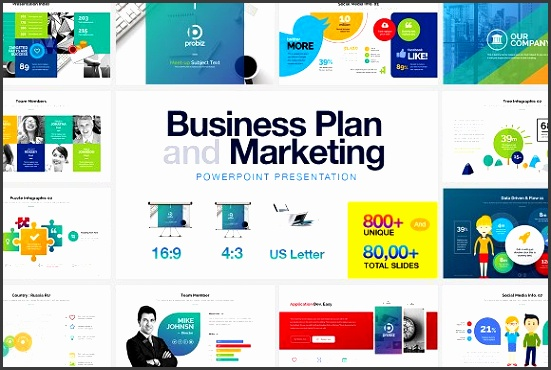 Business Plan & Marketing Powerpoint Presentations