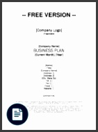Growthink Business Plan Template Download Free PDF