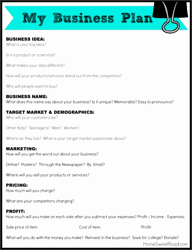 Free Business Plan Templates Samples Formats And Exampl Cmerge Food Cart Template Truck Sample Pdf