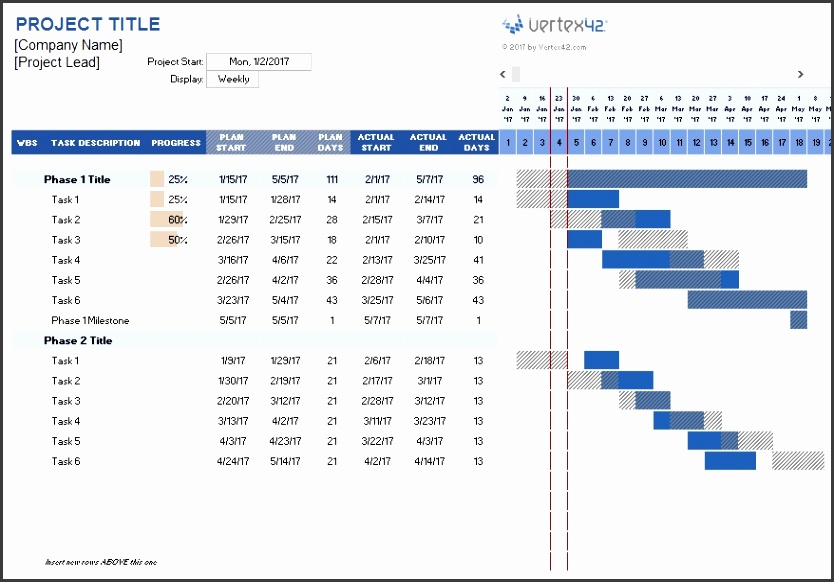 Project Planner Template with Project Plan Template Excel 1976