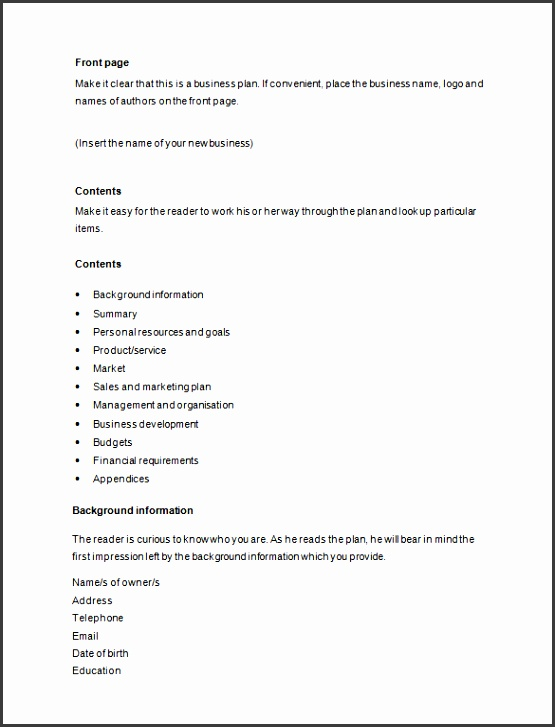 How to Write Business Proposal Word Free Download