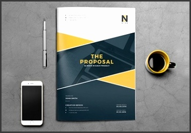 15 Best Business Proposal Templates For New Client Projects for Business Plan Design Template