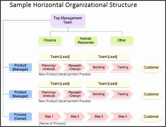 Horizontal Organizational Structure