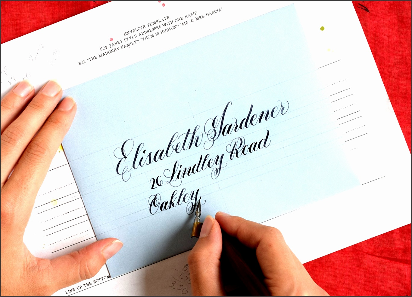 Calligraphy guidelines are the behind the scenes stars of most great pieces Since guidelines don t show up in finished works though we don t talk about