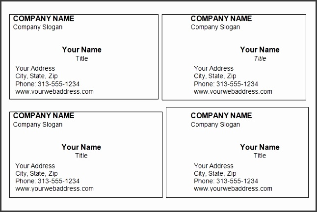 Business Cards Templates Free For Word Business Cards Templates Word Blank Business Card Template